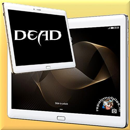 ipad tablet dead repaired