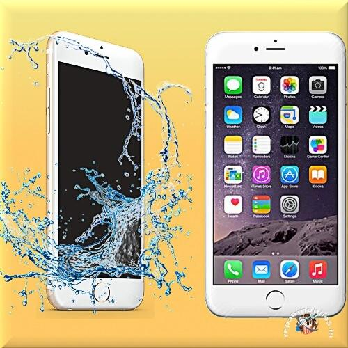 iphone repairing water damaged