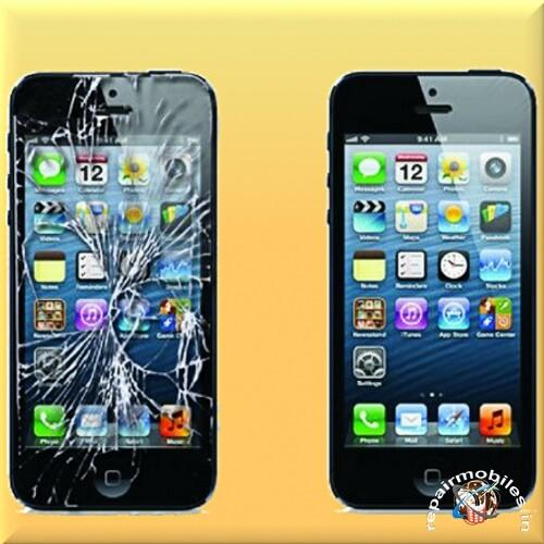 iphone broken screens