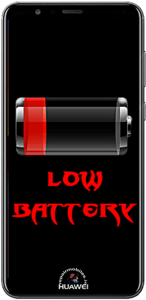mobile phone battery need repair