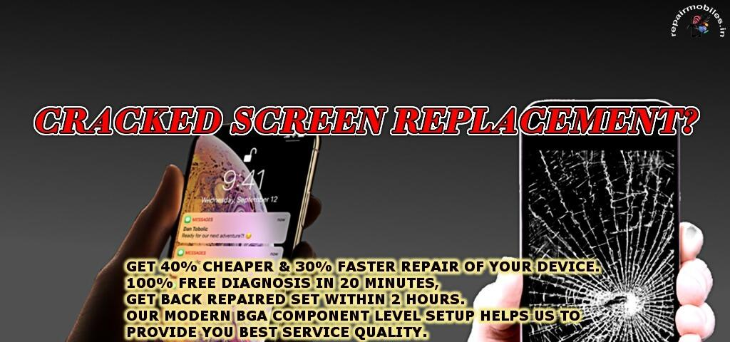 replace phone cracked screen iphone